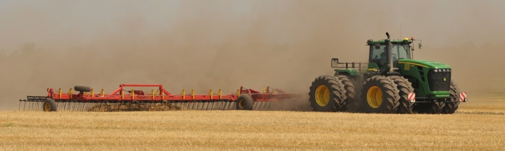 Harrow Wheat Stubble